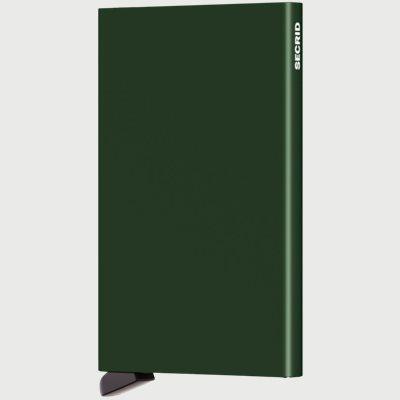Aluminiums Cardprotector Aluminiums Cardprotector | Grøn