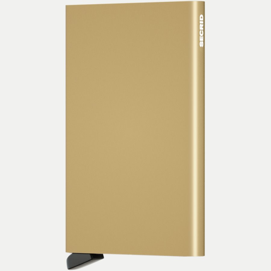 CARDPROTECTOR - Aluminiums Cardprotector - Accessories - GULD - 1