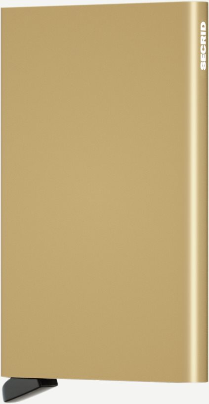 Aluminiums Cardprotector - Accessories - Guld