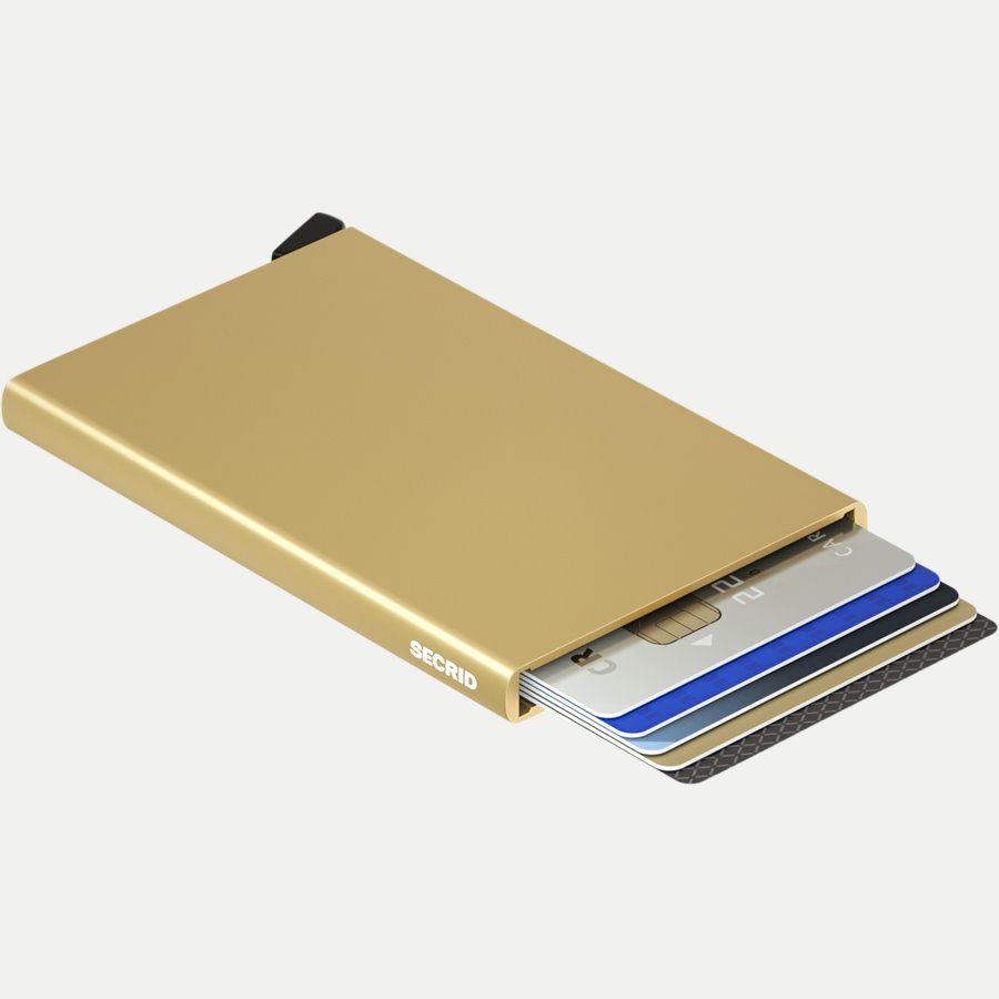 CARDPROTECTOR - Aluminiums Cardprotector - Accessories - GULD - 3