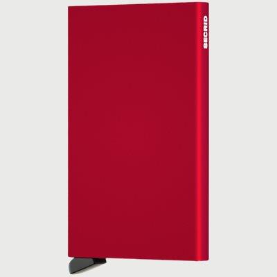 Aluminiums Cardprotector Aluminiums Cardprotector | Rød