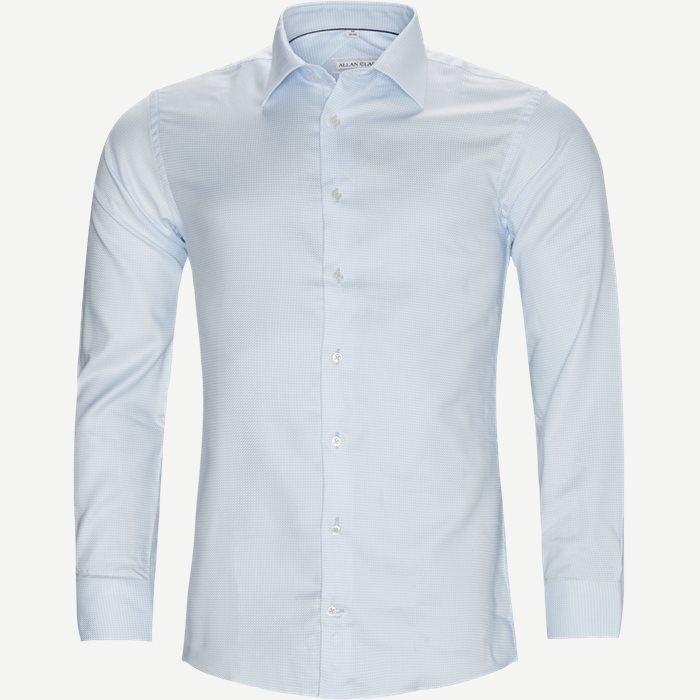 Elias Shirt - Skjorter - Modern fit - Blå