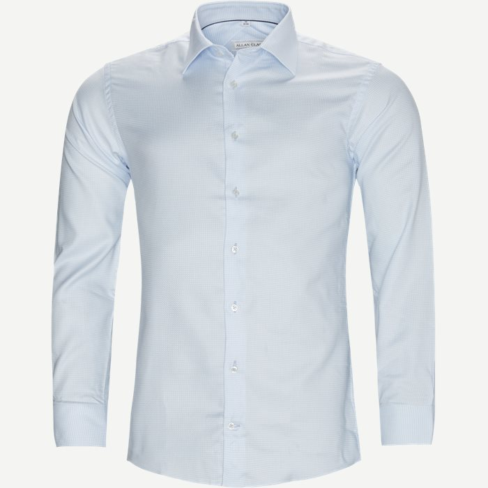 Mens Shirt - Skjortor - Modern fit - Blå