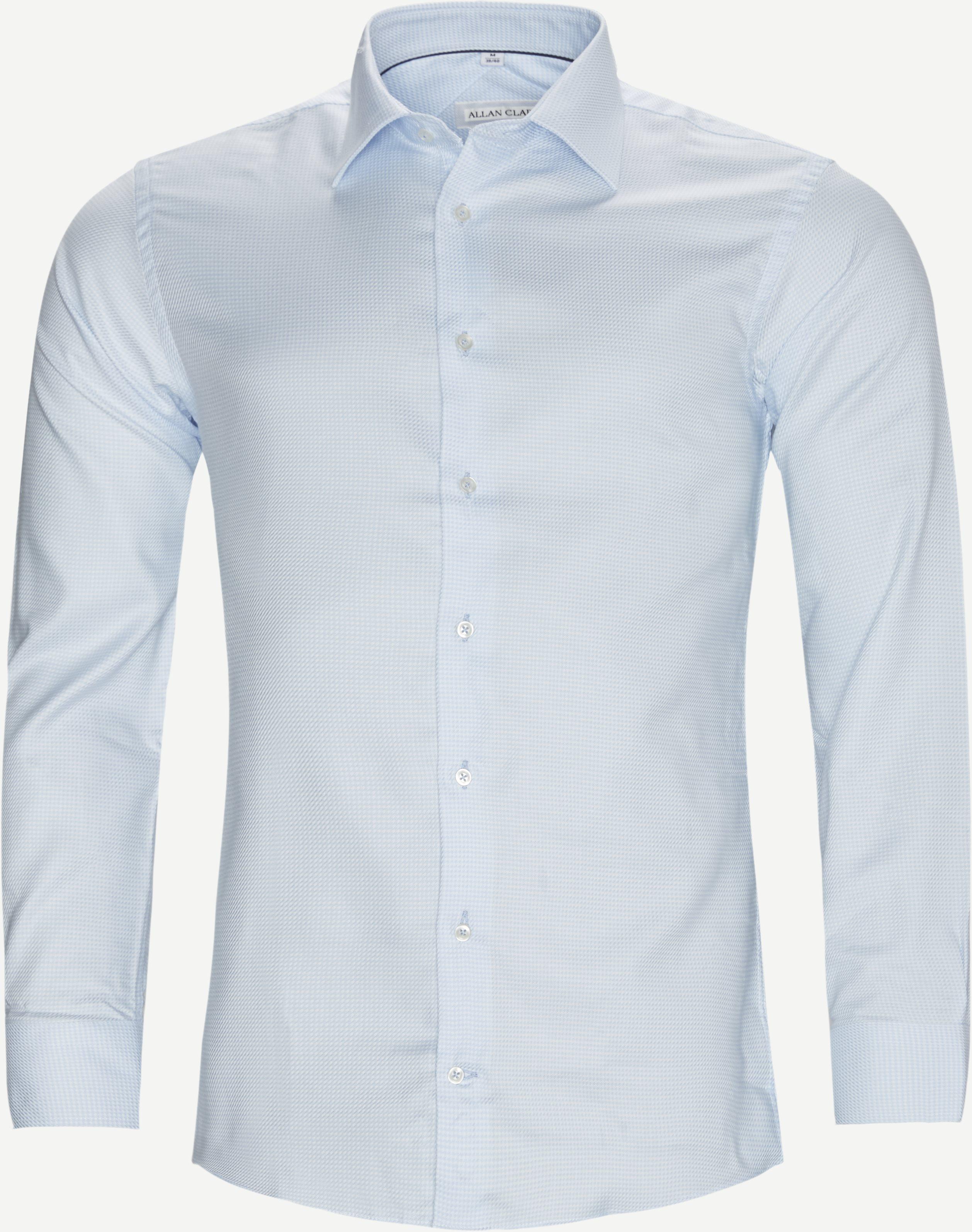 Mens Shirt - Hemden - Blau