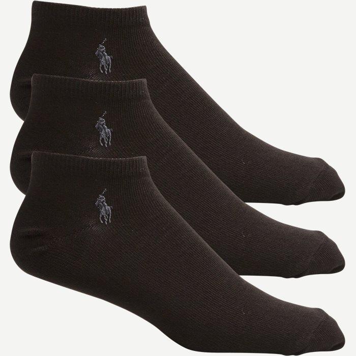 3-pack Socks - Strømper - Sort