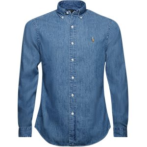 Button-down Denim skjorte Slim | Button-down Denim skjorte | Denim