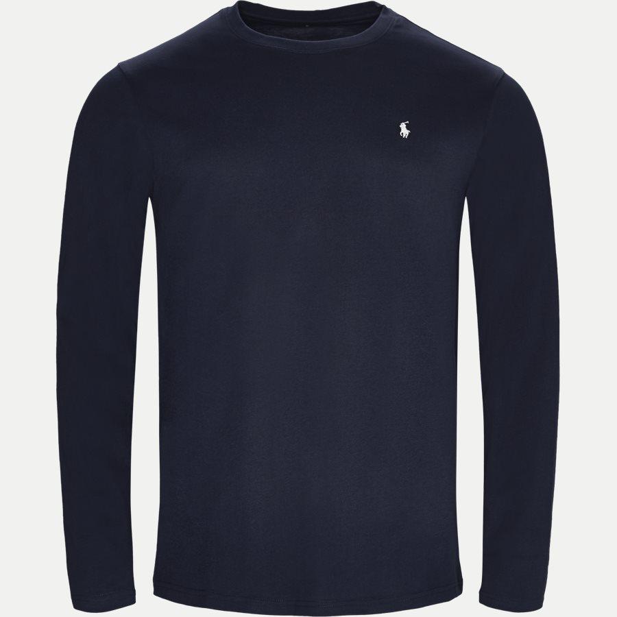 714513501 - Long Sleeve Crew Neck Classic Jersey - T-shirts - Regular - NAVY - 1
