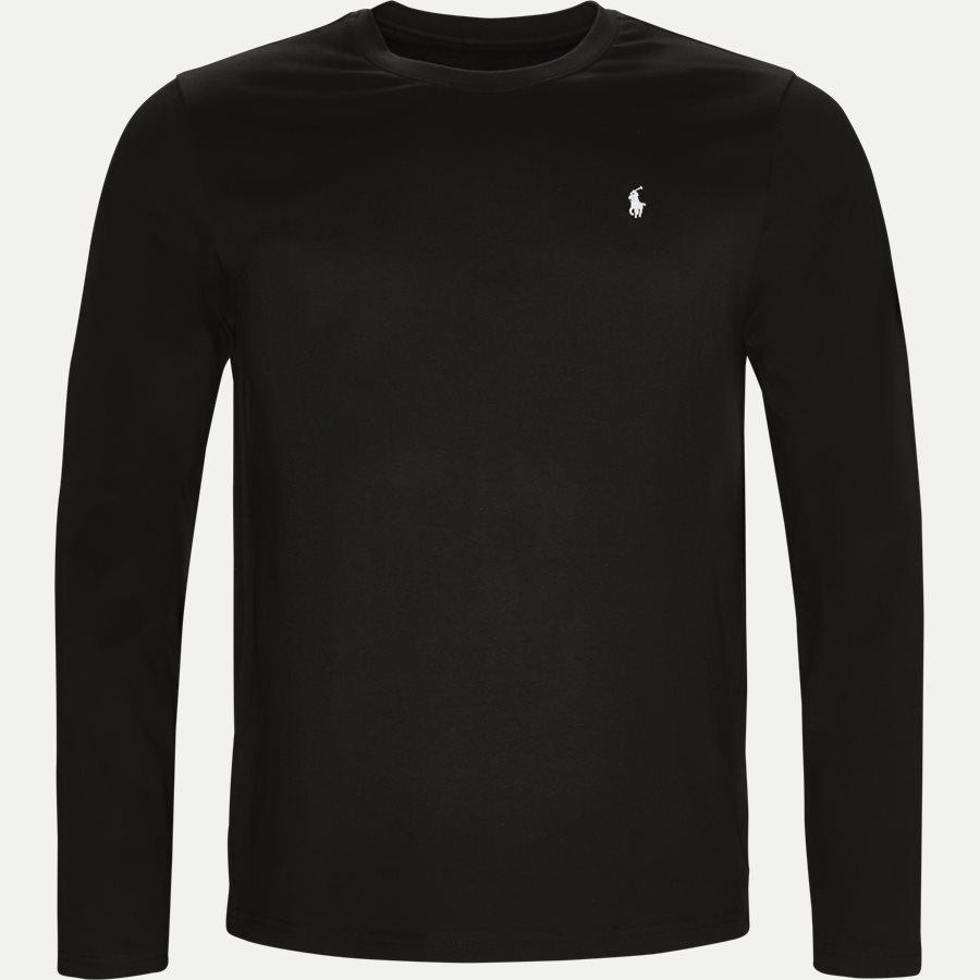 714513501 - Long Sleeve Crew Neck Classic Jersey - T-shirts - Regular - SORT - 1