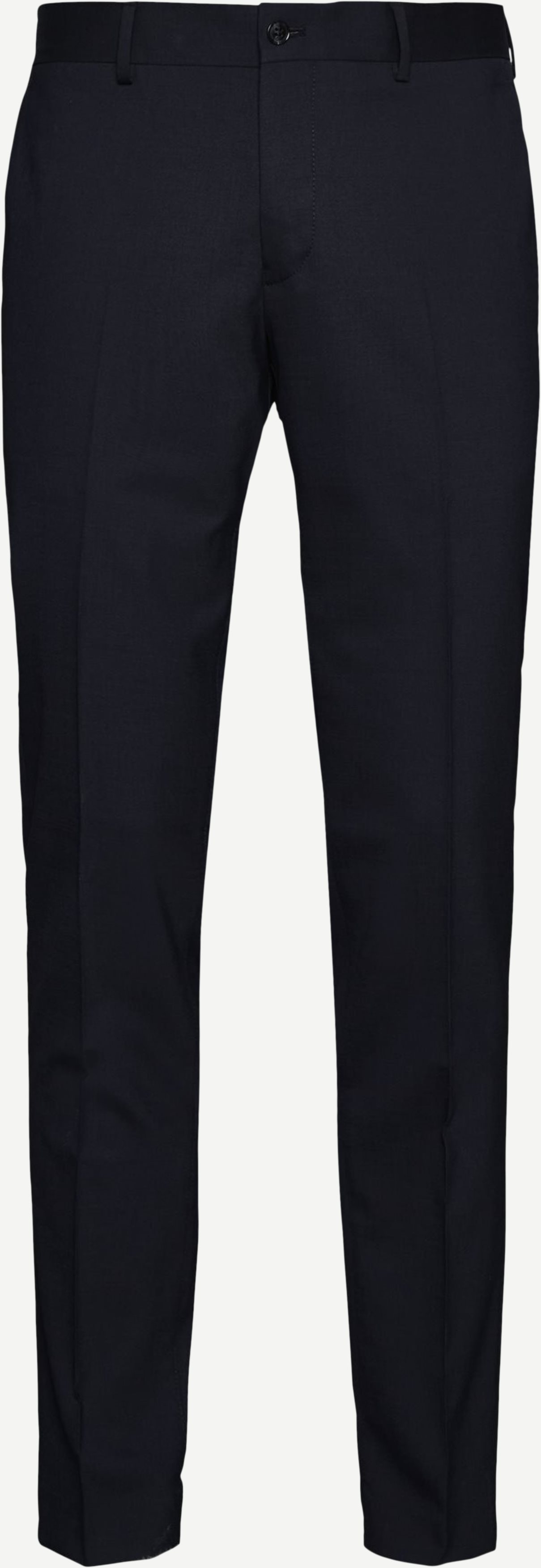 Trousers - Slim fit - Blue