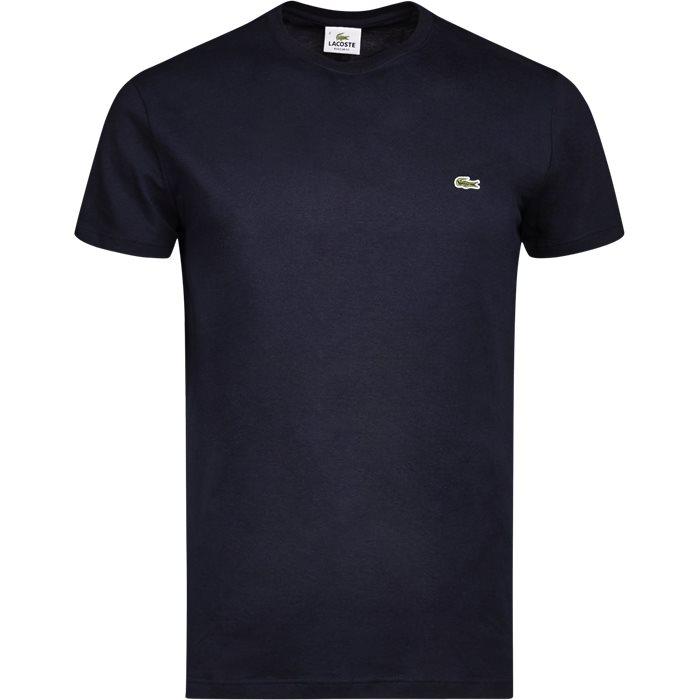 TH2038 TEE S/S - T-shirts - Regular - Blå