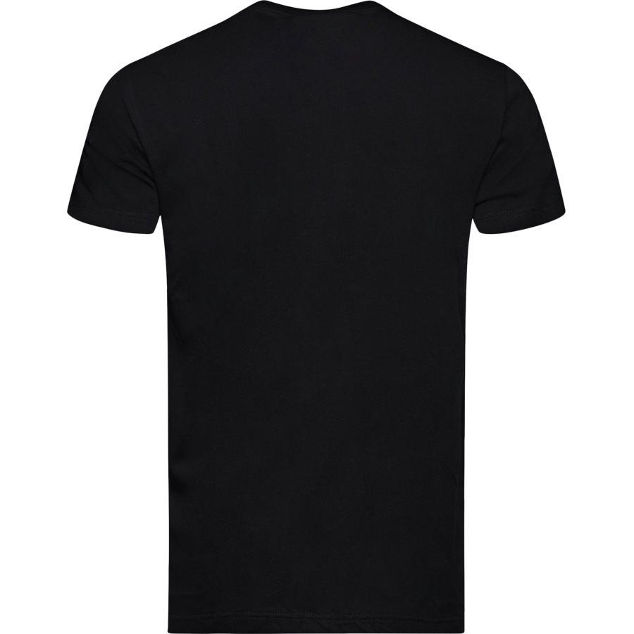 TH2038 TEE S/S - TH2038 TEE S/S - T-shirts - Regular - SORT - 2