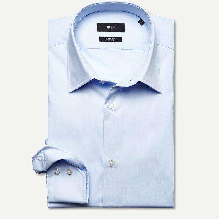 Enzo Skjorte - Skjorter - Regular - Blå