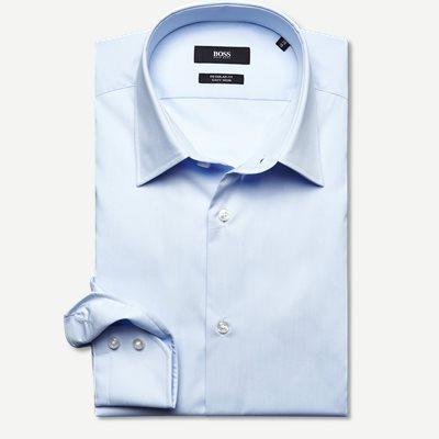 Enzo Skjorte Regular | Enzo Skjorte | Blå