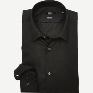 Enzo Skjorte Regular | Enzo Skjorte | Sort