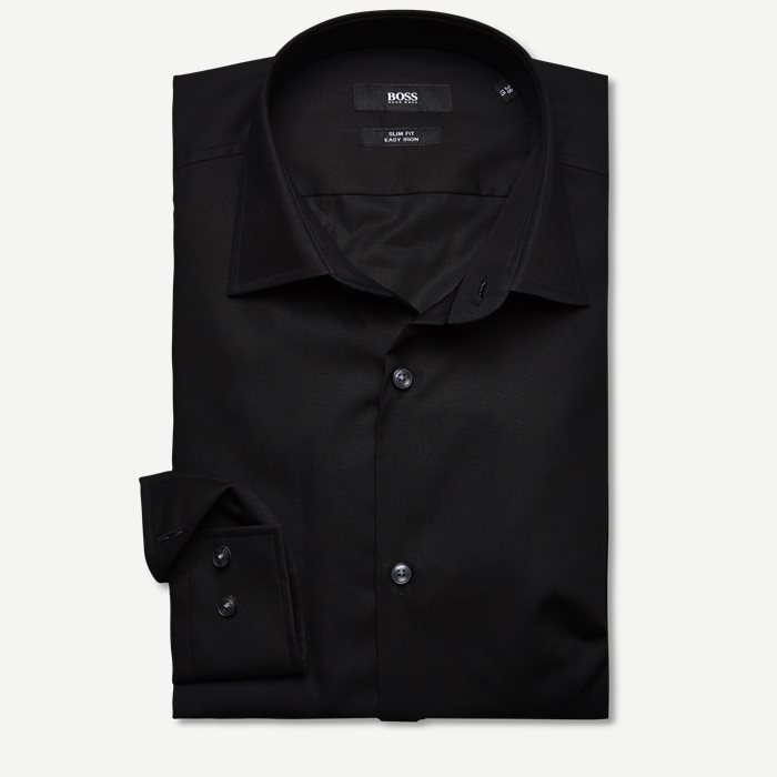 Skjortor - Slim - Svart