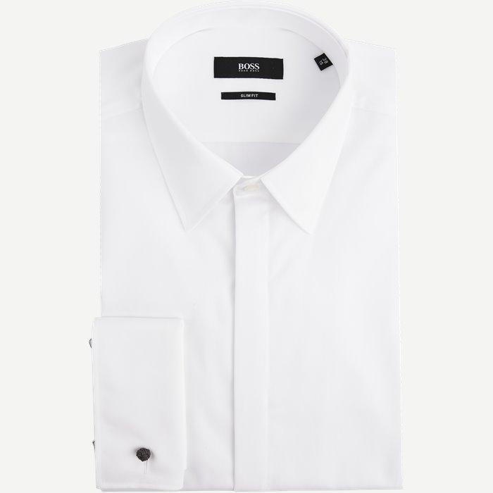 Hemden - Slim - Weiß