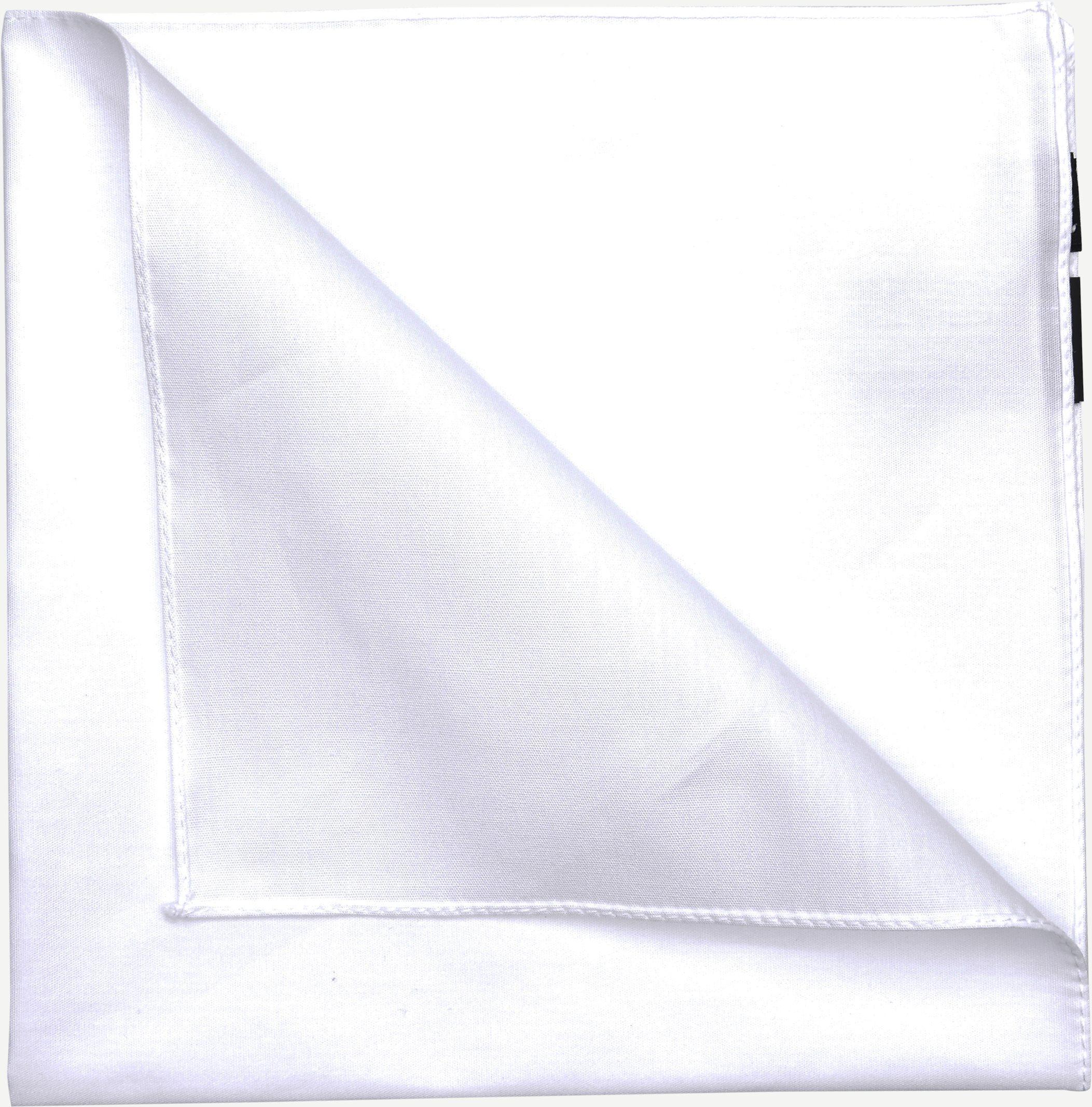 Lommeklud - Accessories - Hvid