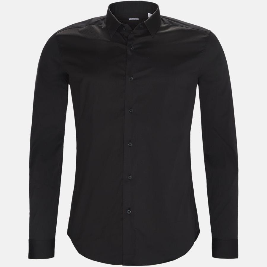 16125 661ML NY - 16125 661ML NY skjorte - Skjorter - SORT - 1