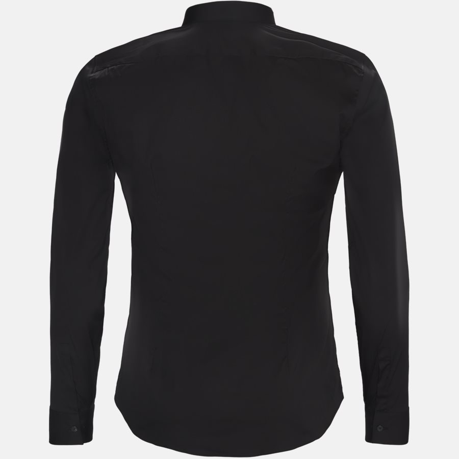 16125 661ML NY - 16125 661ML NY skjorte - Skjorter - SORT - 2