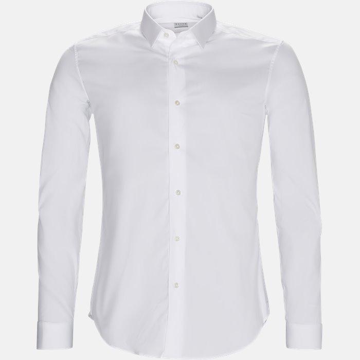 16125 661ML NY skjorte - Skjorter - Hvid