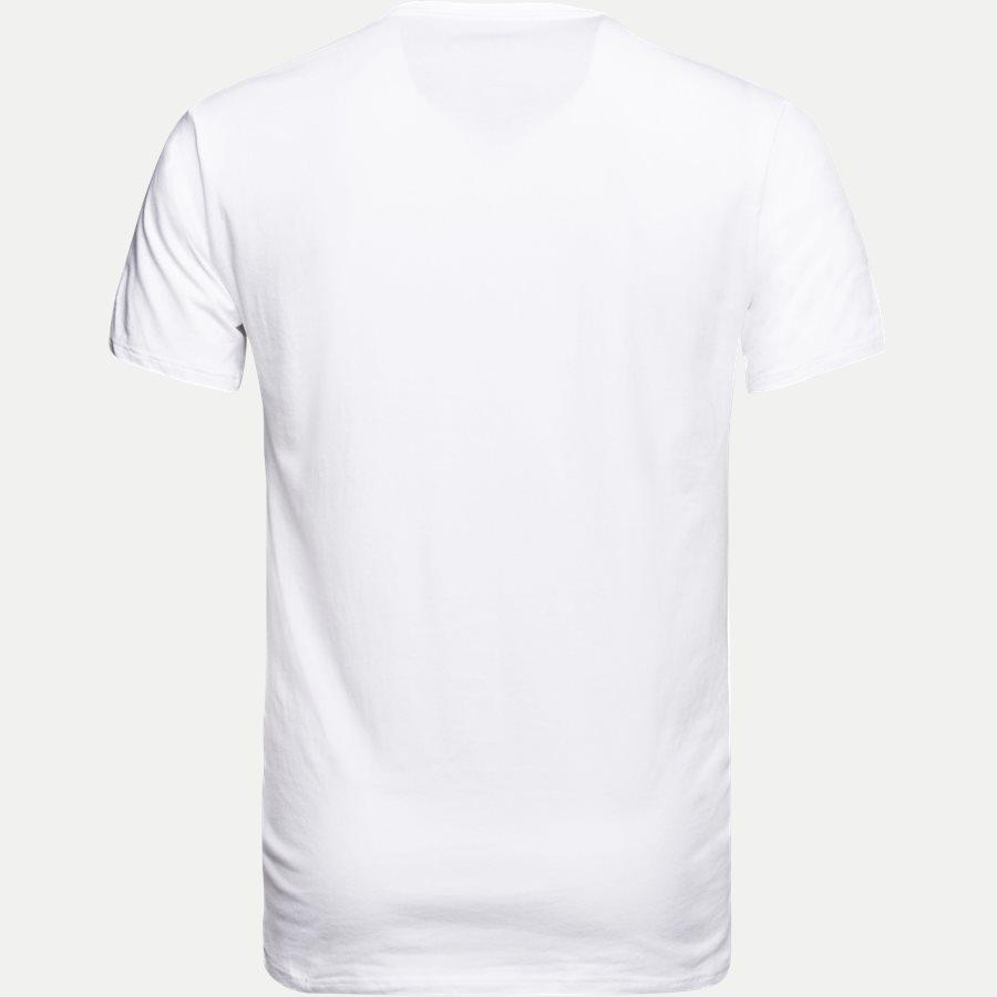 NB1089A 2PACK V NECK - 2-pak V-hals t-shirt - Undertøj - Slim - WHITE - 3