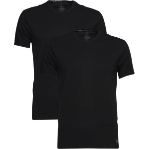 2-pak Rundhalset T-shirt Regular | 2-pak Rundhalset T-shirt | Sort