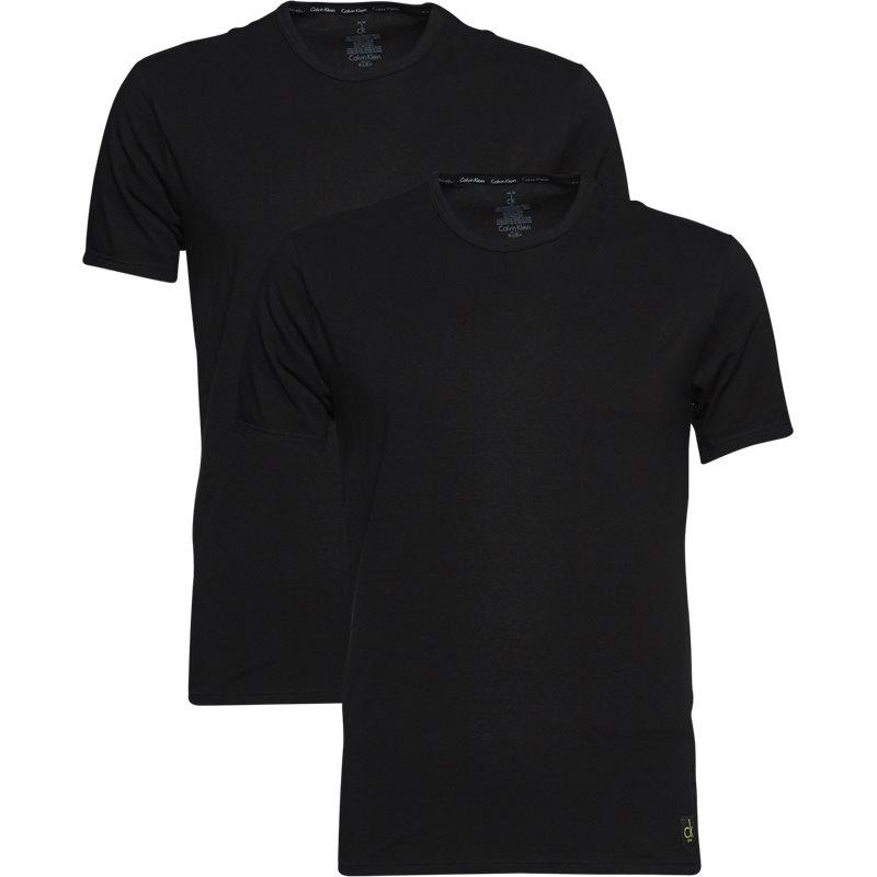 Image of   Calvin Klein - 2-pak Rundhalset T-shirt