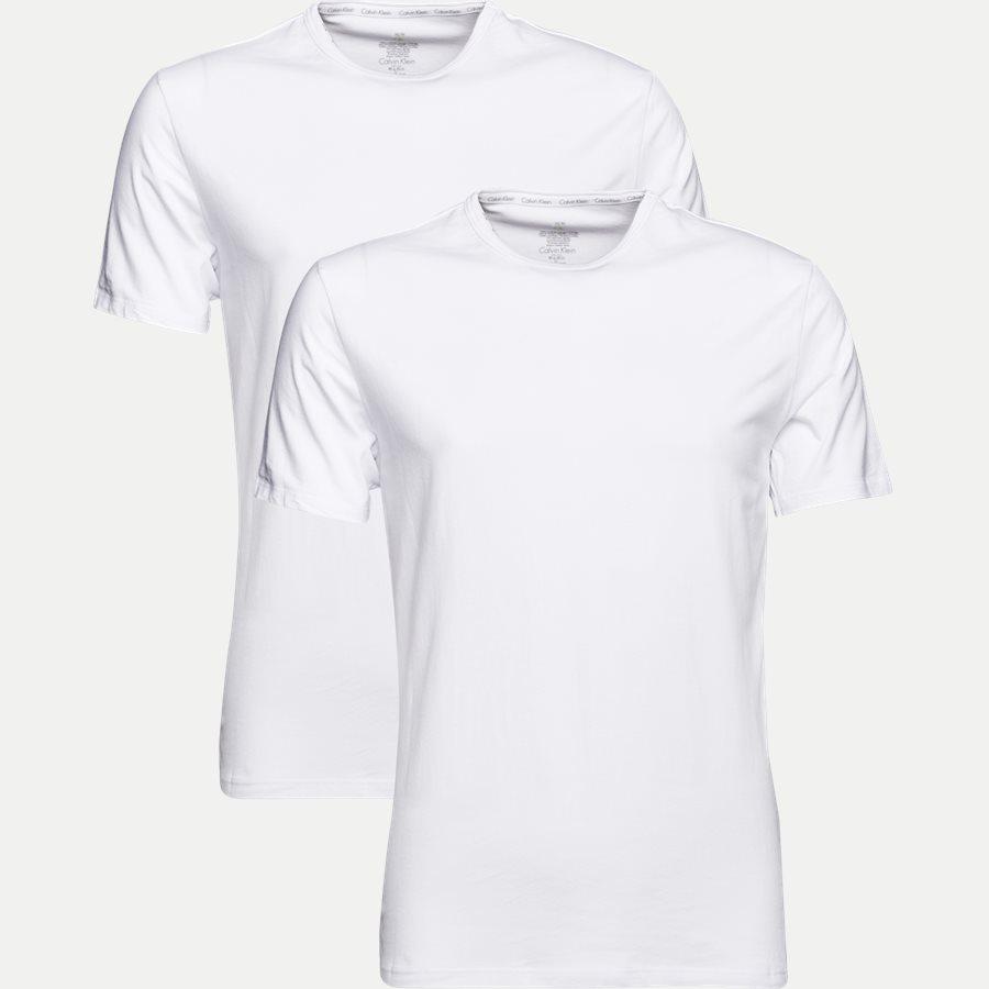 NB1088A 2 PACK CREW NECK - 2-pak Rundhalset T-shirt - Undertøj - Regular - WHITE - 1