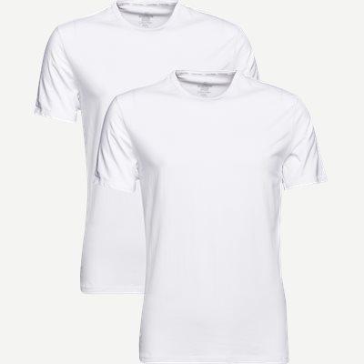 2-pak Rundhalset T-shirt Regular | 2-pak Rundhalset T-shirt | Hvid