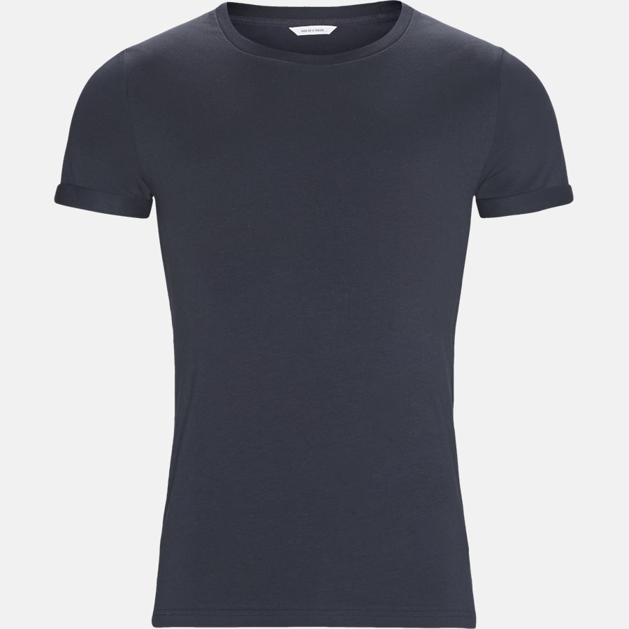 BASIC - Basic T-shirt - T-shirts - NAVY - 1