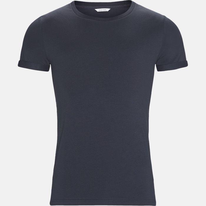 Basic T-shirt - T-shirts - Blå