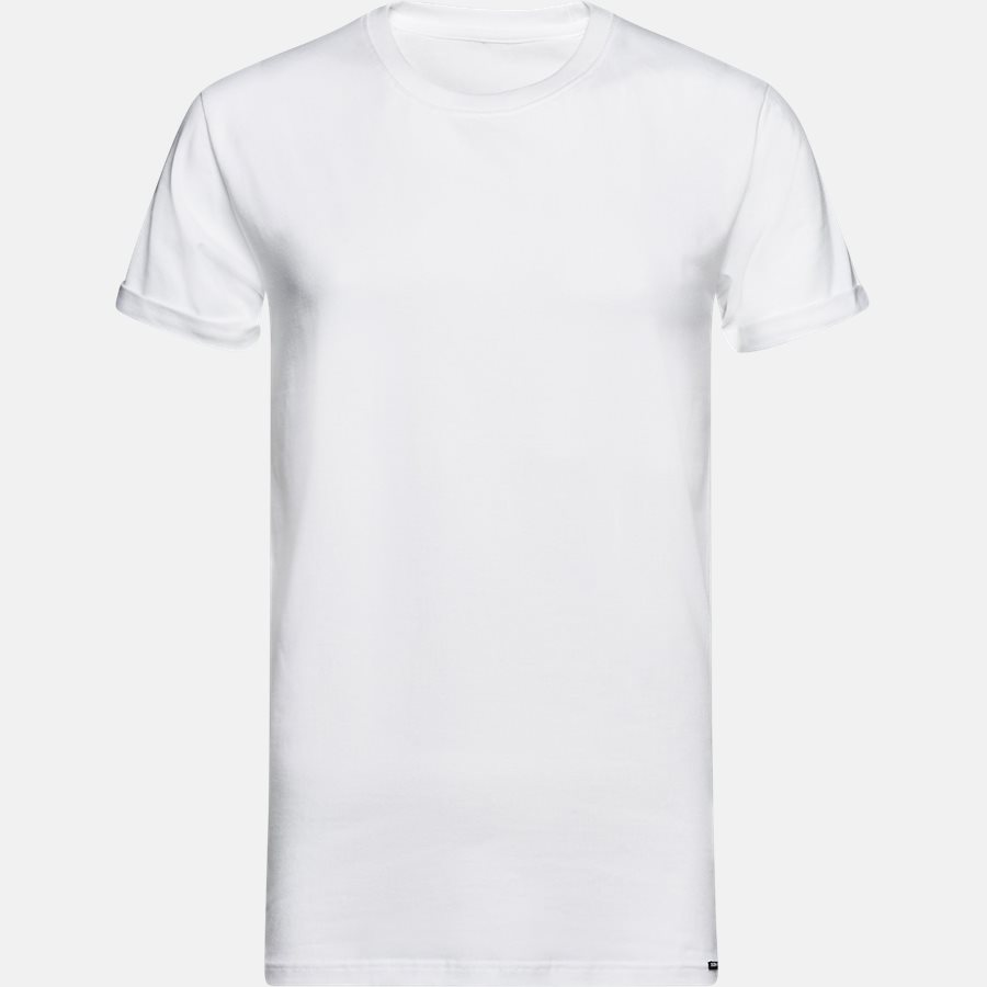 BASIC - Basic T-shirt - T-shirts - WHITE - 1