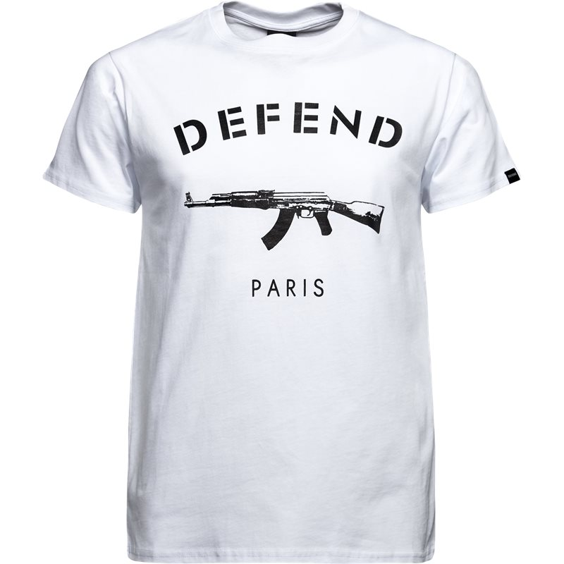 Billede af Defend Paris Paris Tee S/s Hvid