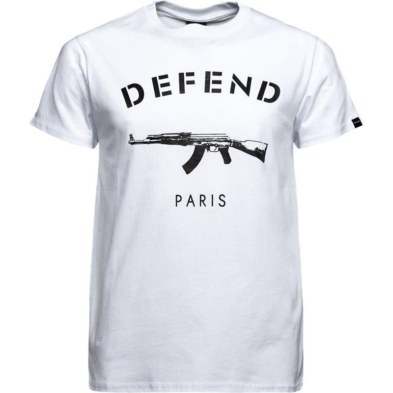 Defend paris paris tee s/s hvid fra defend paris på quint.dk