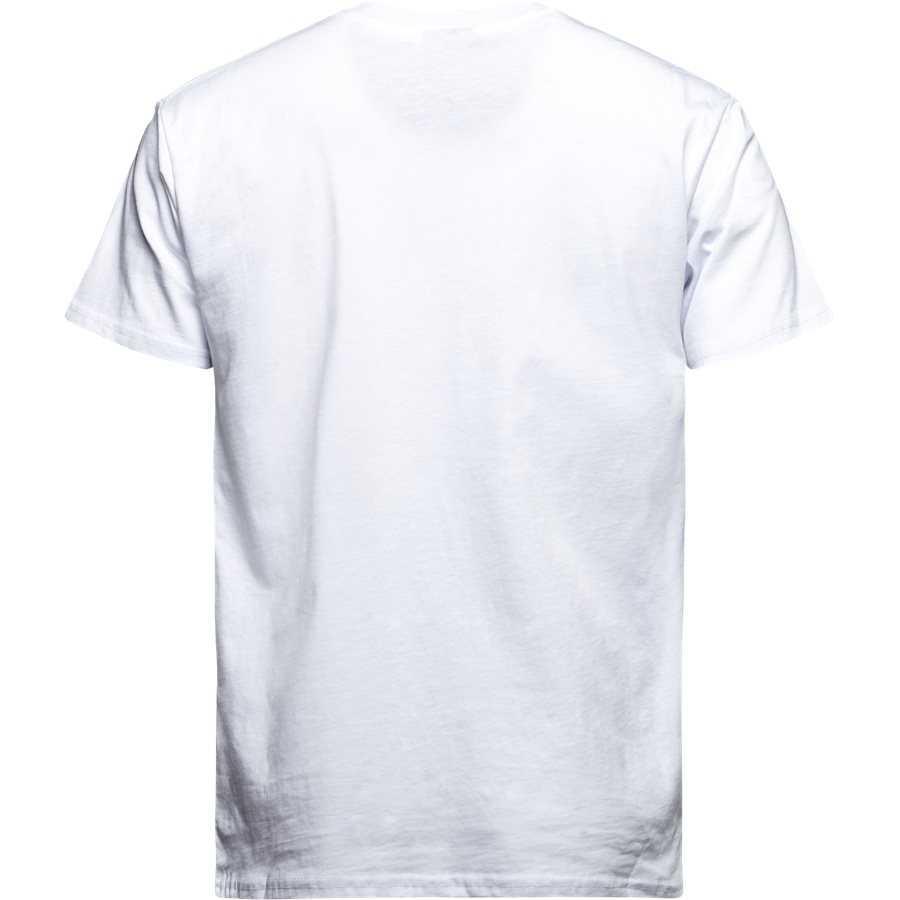 PARIS TEE S/S - PARIS TEE S/S - T-shirts - Regular - HVID - 2