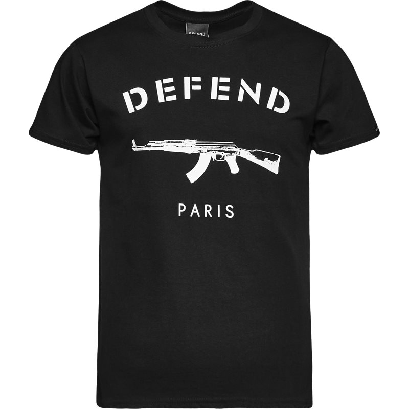 Defend paris paris tee s/s sort fra defend paris på quint.dk