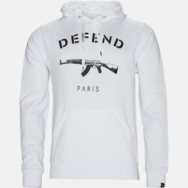 Paris Hood Sweatshirt