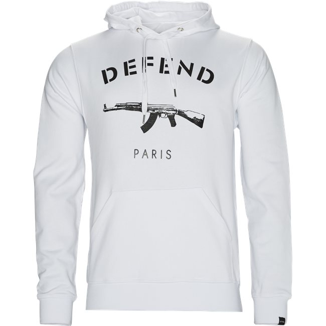 Paris Hood Sweatshirt