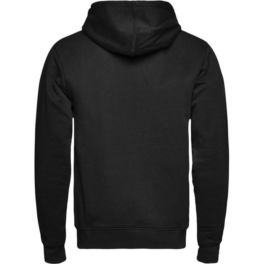 PARIS HOOD - Paris Hood Sweatshirt - Sweatshirts - Regular - SORT - 2