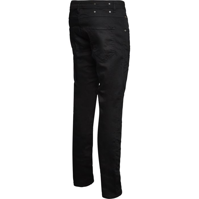 Jeans - Tapered fit - Svart