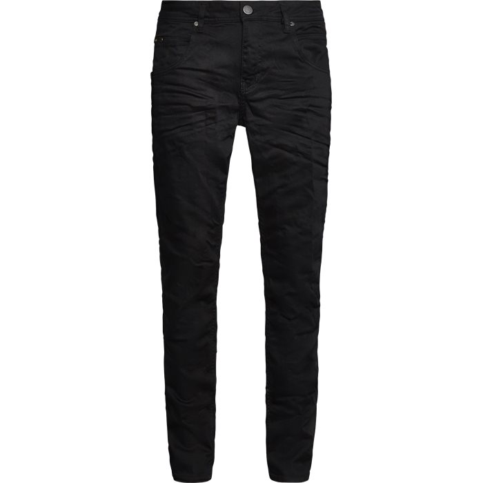 NERAK BLK NIGHT  - Jeans - Straight fit - Sort
