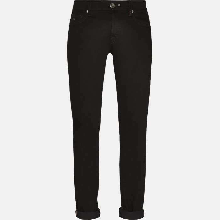 MOON B LEONARDO jeans - Jeans - Sort