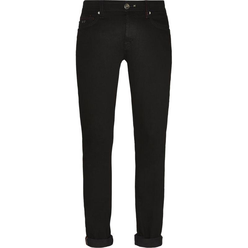 sartoria tramarossa Sartoria tramarossa moon b leonardo jeans black på axel.dk