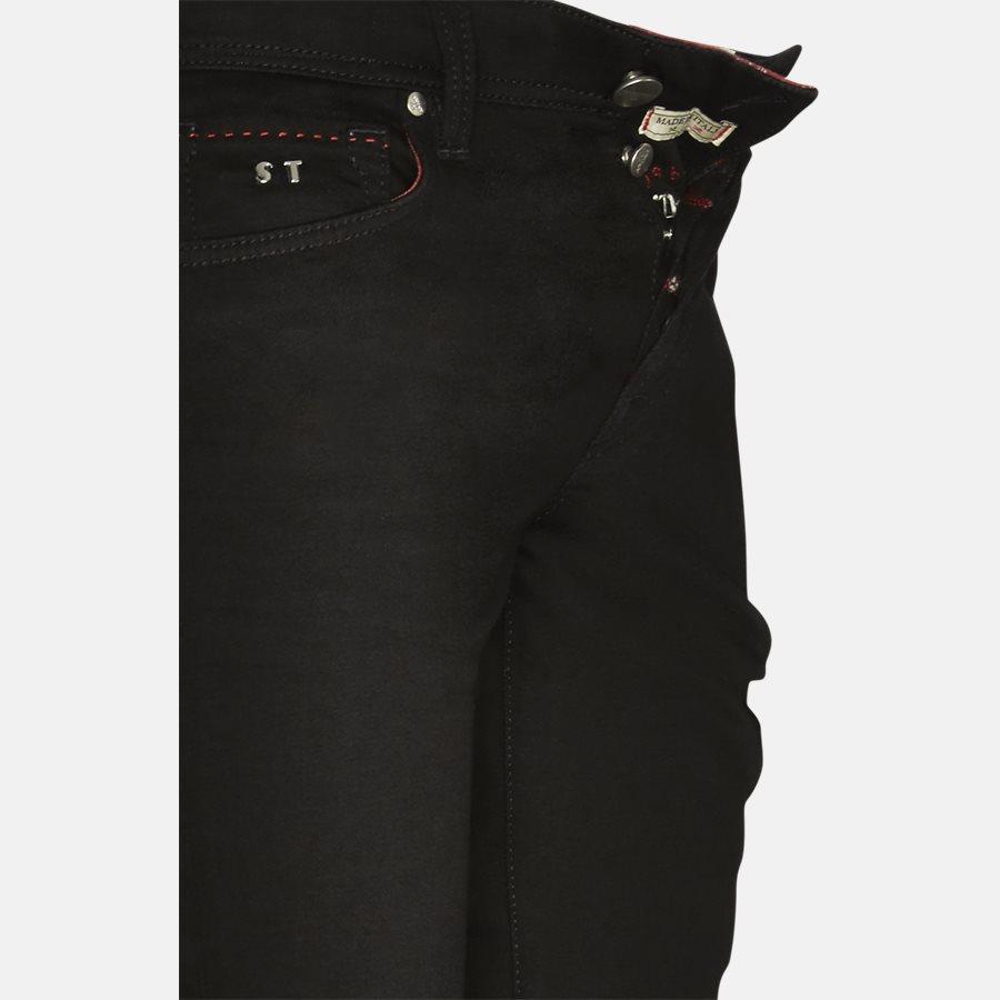 1MOON B LEONARDO - MOON B LEONARDO jeans - Jeans - BLACK - 4