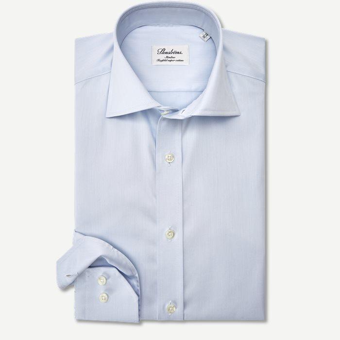 Dress Skjorte - Skjorter - Slim - Blå