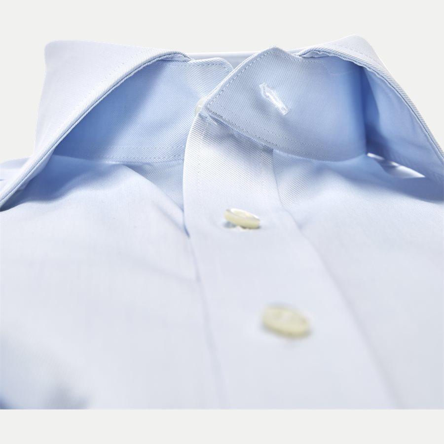 1467-000/100 SLIM - Twofold Super Cotton Skjorte - Skjorter - Slim - BLÅ - 2