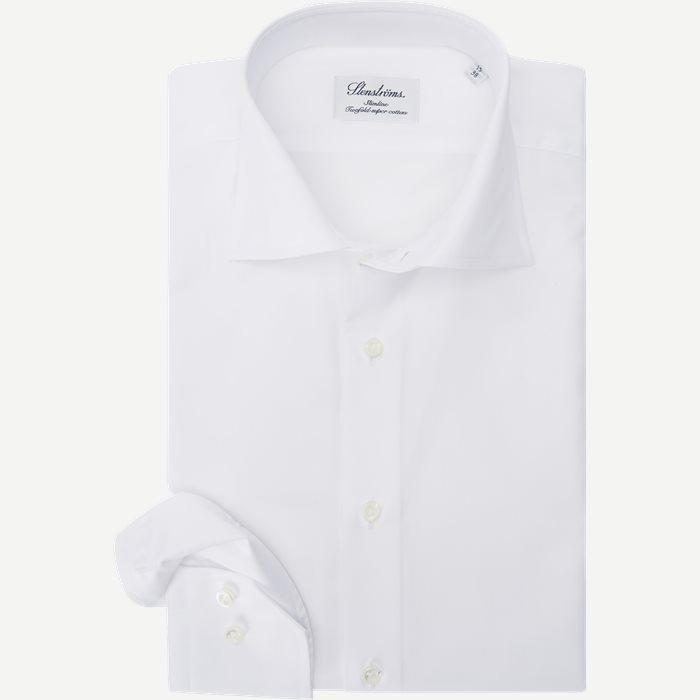 Dress Skjorte - Skjorter - Slim - Hvid