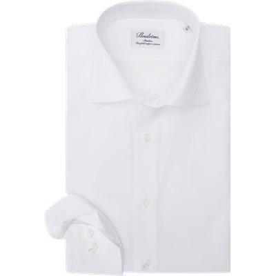 Twofold Super Cotton Skjorte Slim | Twofold Super Cotton Skjorte | Hvid