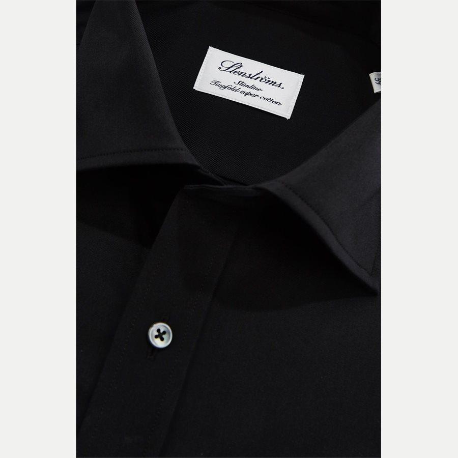 1465-600 SLIM - Dress Skjorte - Skjorter - Slim - SORT - 2