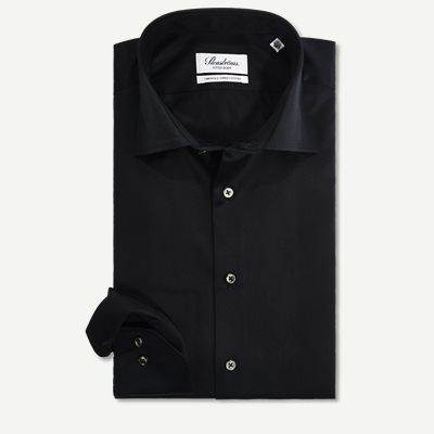 Twofold Super Cotton Skjorte Regular | Twofold Super Cotton Skjorte | Sort